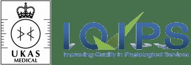IQIPS UKAS Medical Logo